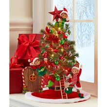 Santa Workshop Miniature Christmas Tree, medium