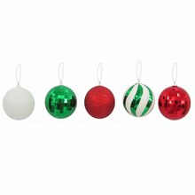Peppermint Lane 57mm Ball Ornaments By Celebrate It