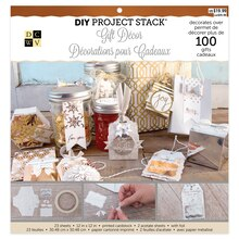 DCWV Gift Decor DIY Project Stack In Package
