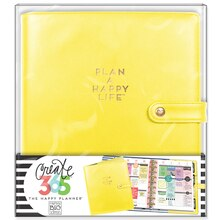 Create 365™ The Happy Planner™ Classic Deluxe Cover, Sunshine Yellow, medium