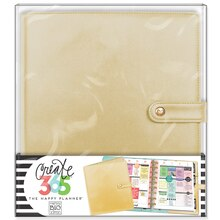 Create 365™ The Happy Planner™ Classic Deluxe Cover, Gold, medium