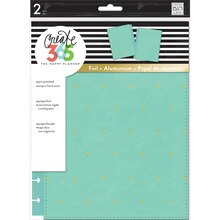Create 365 The Classic Happy Planner Snap-In Hard Cover, Sky Blue Dots