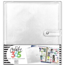 Create 365 The Happy Planner Big Deluxe Cover, Silver