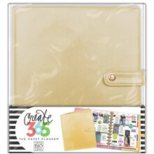 Create 365 The Happy Planner Big Deluxe Cover, Gold
