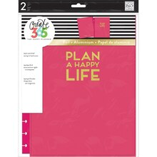 Create 365 The Big Happy Planner Snap-In Hard Cover, Pink