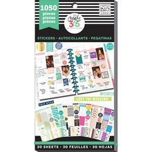 Create 365 The Happy Planner Value Pack Stickers, This Colorful Life