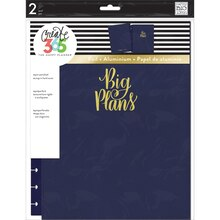 Create 365 The Big Happy Planner Snap-In Hard Cover, Navy