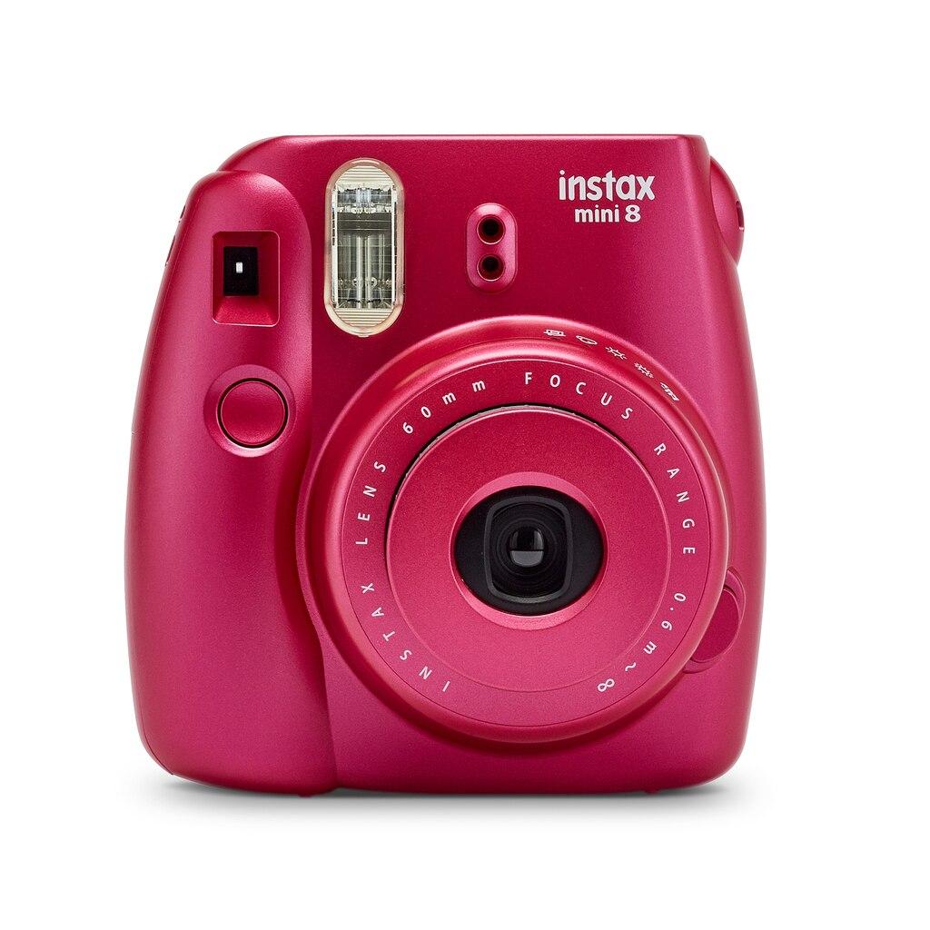 Find the fujifilm instax mini 8 camera pomegranate red for Instax mini 8 housse