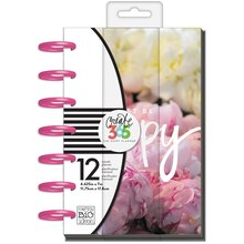 Create 365 The Mini Happy Planner, Peony Floral