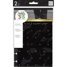 Create 365 The Mini Happy Planner Snap-In Hard Cover, Gold Dots