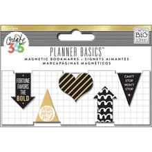 Create 365 The Happy Planner Magnetic Bookmarks, Gold