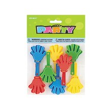 Mini Hand Clapper Party Favors, 8ct