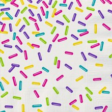 Rainbow Sprinkles Luncheon Napkins