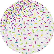 Rainbow Sprinkles Dinner Plates