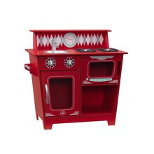 KidKraft Classic Kitchenette, Red