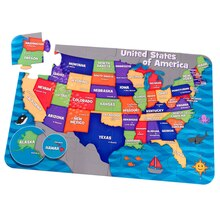 KidKraft Floor Puzzle, Map of the USA