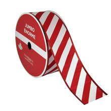 "Candy Cane Jumbo Ribbon By Celebrate It, 2.5"" x 100ft."
