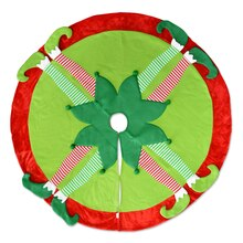 Tree Skirt with Elf Legs By Celebrate It