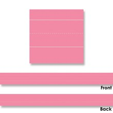 Lined Multicolored Sentence Strips, 4 Packs of 75