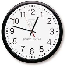 "14"" Thinline Quartz Wall Clock With 12"" Dial"