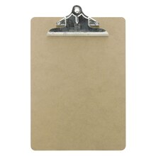 Charles Leonard Masonite Letter Size Clipboards, 12 Count