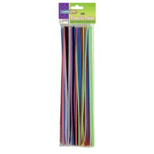 "12"" Assorted Chenille Stems, 12 Packs"