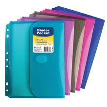 Mini-Size Binder Pocket, 18 Count