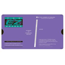 Purple E-Z Grader, 4 Count