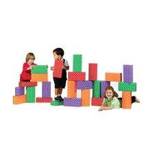 ImagiBRICKS™ Giant Rainbow Building Block Set, 24 pcs