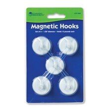 Magnetic Hooks, 2 Packs
