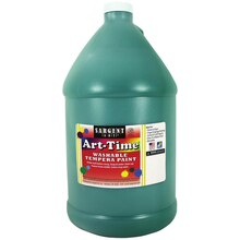 Sargent Art Art-Time Washable Tempera Paint, Green