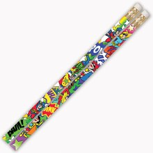 Super-Duper Heroes Pencil, 12 Packs