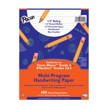 "Pacon Multi-Program Handwriting Paper, 1/2"" Short Rule"
