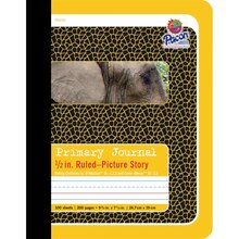 "Pacon 1/2"" Ruled Picture Story Composition Books, 12 Count"