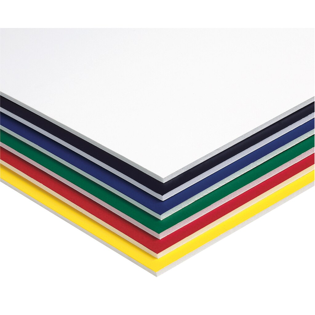 Fome cor foam board assorted colors for Custom craft laminate sheets