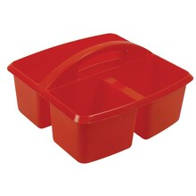 Small Red Utility Caddy, 6 Count