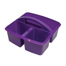 Small Purple Utility Caddy, 6 Count