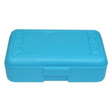 Pencil Box, Turquoise, 12 Count