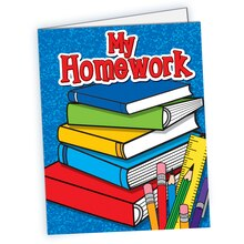 My Homework Pocket Folder, 10 Count