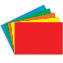 "4"" x 6"" Blank Index Cards, Primary Assortment"