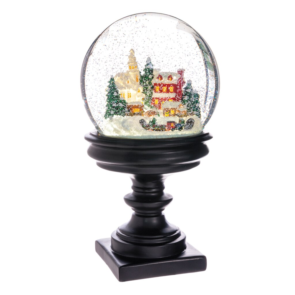 Best 28 Battery Operated Snow Globes Christmas Santa Claus Snow Globes Christmas Wikii