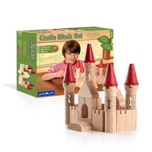 Guidecraft Tabletop Blocks Castle With Box