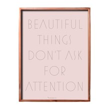 Bloomingville 'Beautiful Things...' Wall Decor Accent