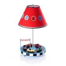 Guidecraft's Retro Racers Table Lamp