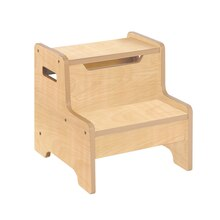 Guidecraft Expressions Step Stool, Natural
