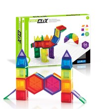 Guidecraft's PowerClix Solids, 94 Piece Set With Box