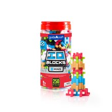 Guidecraft IO Blocks Minis 250 Piece Set