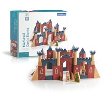Guidecraft Medieval Castle Blocks With Box