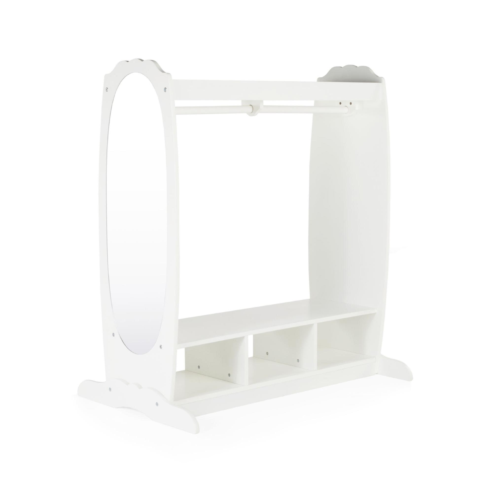 Guidecraft Dress Up Storage Center In White