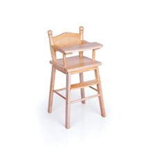 Guidecraft Doll High Chair, Natural